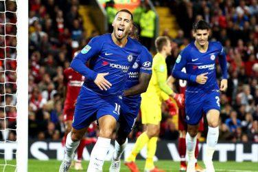 Gianfranco Zola Liverpool - Chelsea EFL Cup