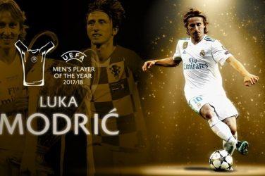 Luka Modric UEFA 2018