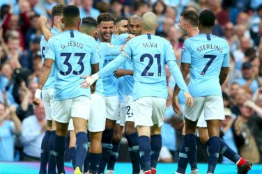 Manchester City contre Lyon LDC 2018