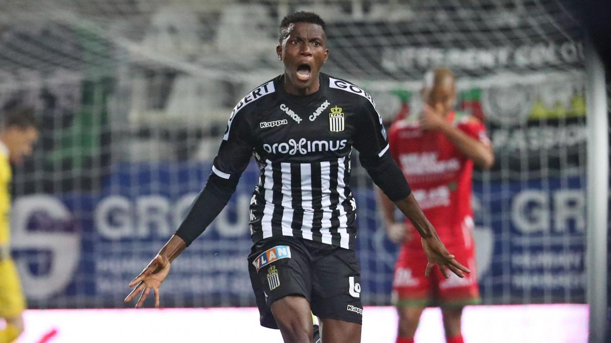 Victor Osimhen a Charleroi