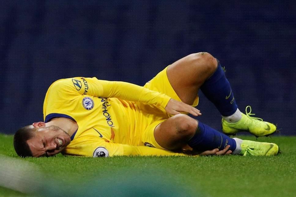 Eden Hazard et sa blessure à la cheville
