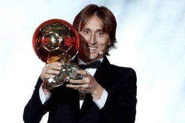Luka Modric ballon d'or 2018
